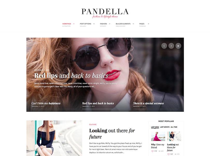 Pandella WordPress Theme Free Download