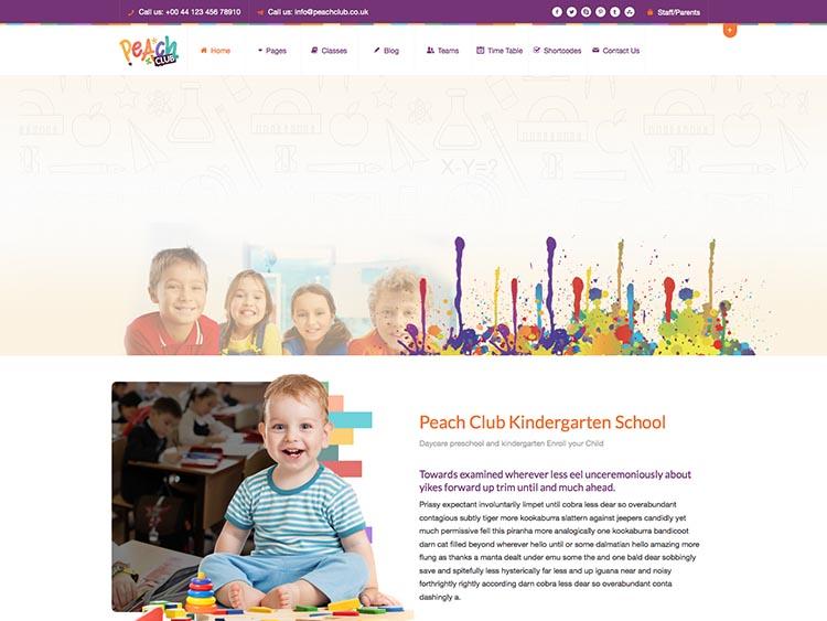 PeachClub WordPress Free Download