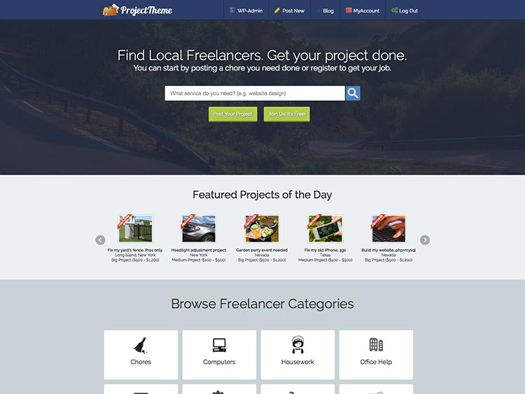 8+ Excellent WordPress Freelance Marketplace Themes