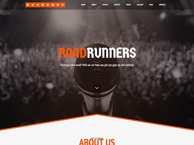 RoadRunners WordPress Free Download