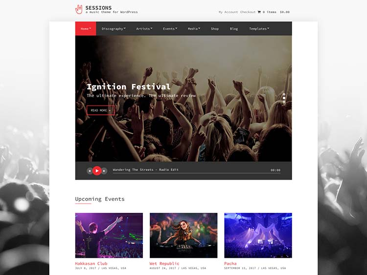 Sessions WordPress Free Download
