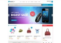 Shopping Wordpress Theme Free Download