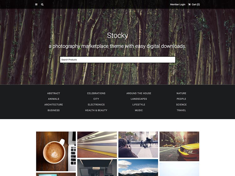 Stocky WordPress Free Download