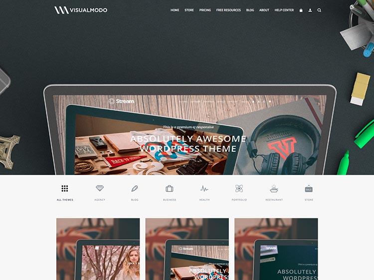 VisualModo WordPress Theme Free Download
