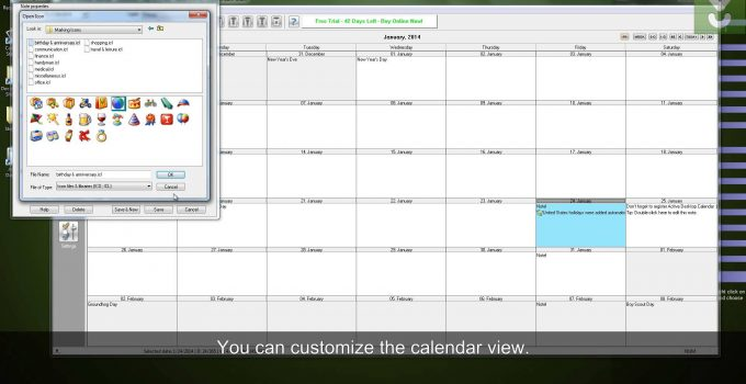 Download aCalendar For PC Windows And Mac