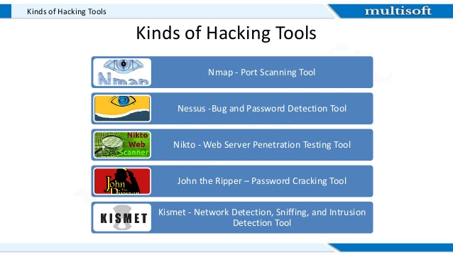 Top 10 Tools used by Ethical Hackers - Ethical Hacking